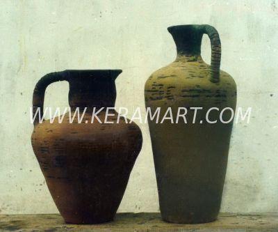 Декоративная ваза в этническом стиле - Архаика
