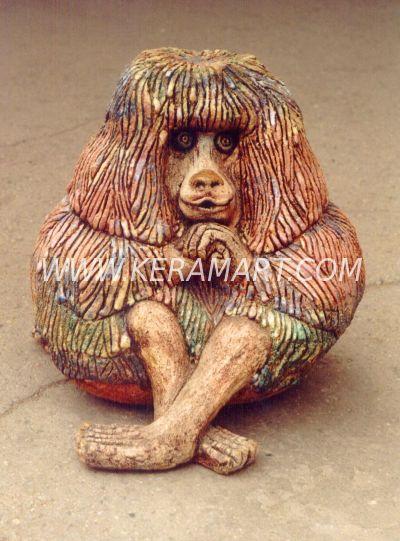 Керамический сувенир - Обезьянка
