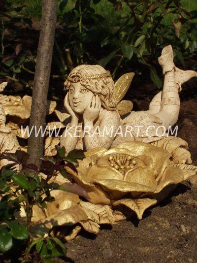 Эльф, садовая скульптура.