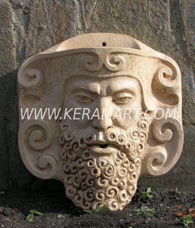 Декоративная скульптура - Маска - источник