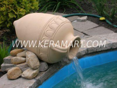 Скульптура из керамики - Кувшин - источник
