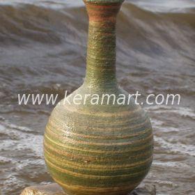 Керамическая ваза - Полоски