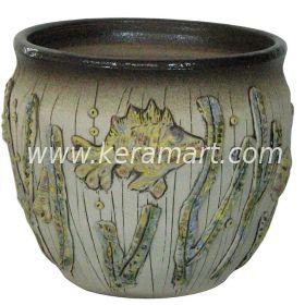 Гончарный керамический горшок - Аквариум