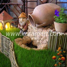 Амфора для садового фонтана