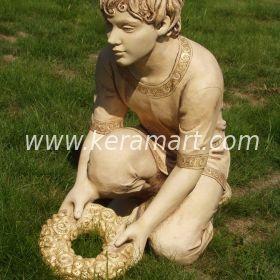 Скульптура из керамики - Мальчик