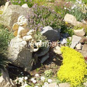 Садовая скульптура - Эльф - мечтатель