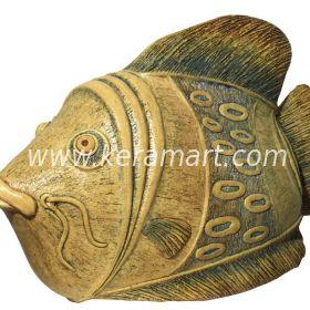 Скулптура для сада - Рыба