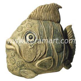 Садовая скульптура - Рыба
